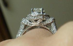"Ring from the side: more ""pixie dust"""
